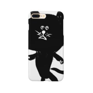 筆猫-fudeneko- Smartphone cases