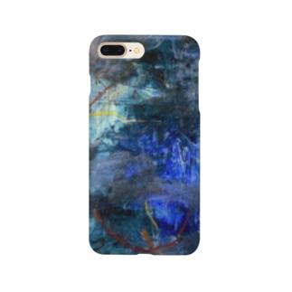 マリンブルーの詩 Smartphone cases