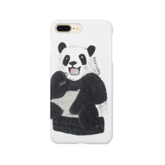リアルめAnimals -パンダ- Smartphone cases