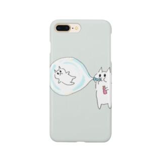 ムームー島のシャボン玉遊び Smartphone cases