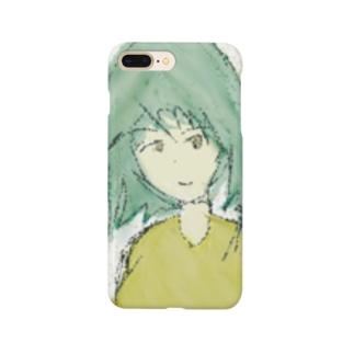 粒子ガール Smartphone cases