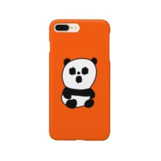 ホラーパンダくん Smartphone cases