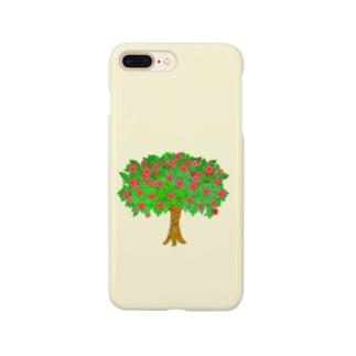 メルヘンなりんごの木 Smartphone cases