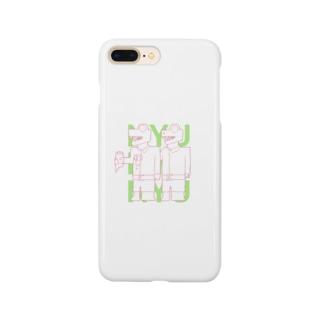 わにのにゅにゅにゅ Smartphone cases