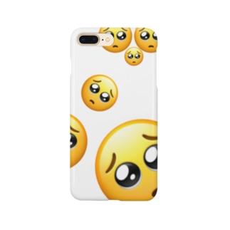 ぴえん Smartphone cases