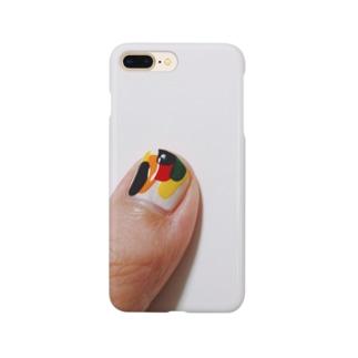 カレーパンの色抽出 Smartphone cases