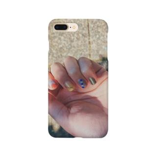 路上の爪 Smartphone cases