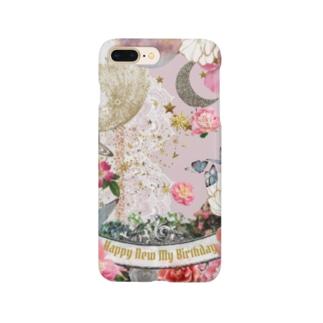 今日は新しいわたしのbirthday♡ Smartphone cases