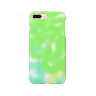 もじゃもじゃぐるくる Smartphone cases
