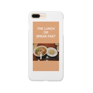 アクセサリー:THE LUNCH OR BREAKFAST Smartphone cases