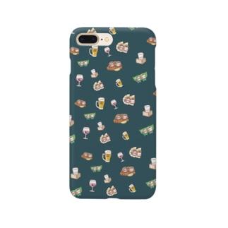 YURU居酒屋(緑) Smartphone cases