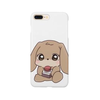 将軍のウサギ「昭恵ちゃん」 Smartphone cases