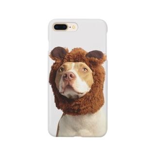 着ぐるみきた犬のスマホケース Smartphone cases