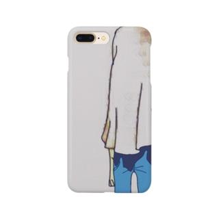 お先真っ暗 Smartphone cases
