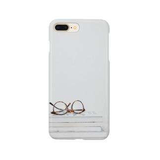 本とメガネのスマホケース Smartphone cases