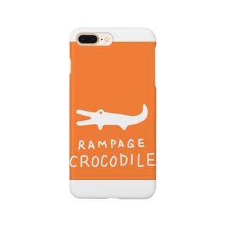 あばれワニのケビン Smartphone cases