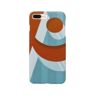 ビックリ顔の'ド' Smartphone cases