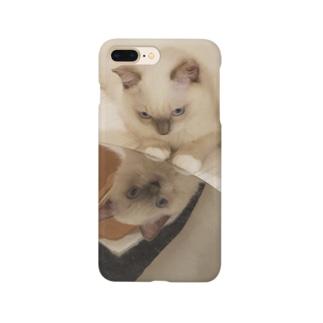 鏡のもなか Smartphone cases