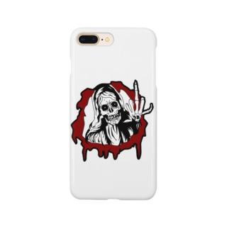 skull マリア Smartphone cases