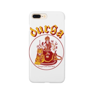 DURGA 赤×黄色(ズレ) Smartphone cases