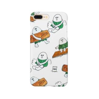 柏原ちまき〝サーフィン〟 Smartphone cases