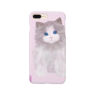 ふわふわ子猫 Smartphone cases