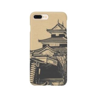 日本の城 小峰城 Smartphone cases