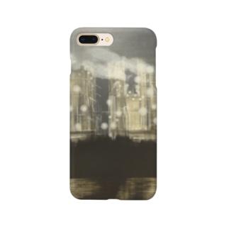 夜の工場 Smartphone cases
