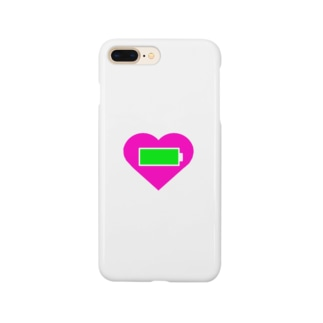 心の充電MAX Smartphone cases