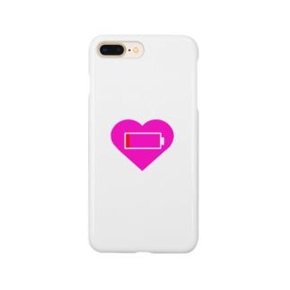 心の充電わずか Smartphone cases