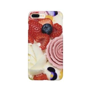 花とフルーツ Smartphone cases