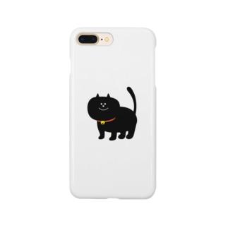 黒いネコ Smartphone cases