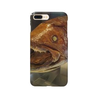 海の生き物シリーズ シーラカンスちゃん1 Smartphone cases