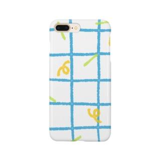 レトロチェック Smartphone cases