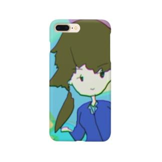 芸術的なガール Smartphone cases