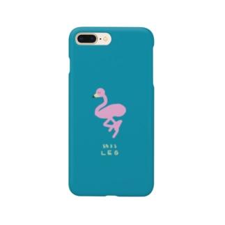 フラミン Smartphone cases