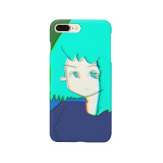 色とりどりなガール Smartphone cases