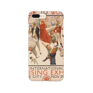 レトロポスター Smartphone cases
