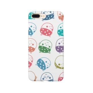プヨ丸ミックス Smartphone cases