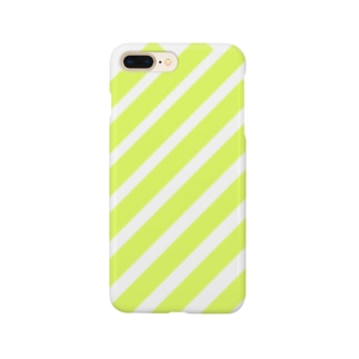 suzuri_fullgraphicT-template-XL_slash_lime_yellow_ Smartphone cases