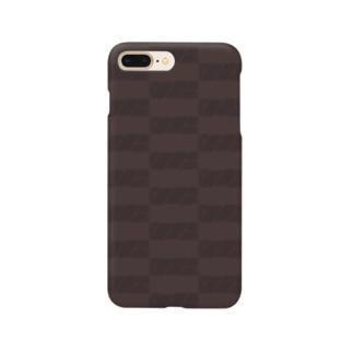 ボックスロゴ(チョコレート) Smartphone cases