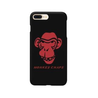 MONKEY CHAPS 猿ロゴ Smartphone cases