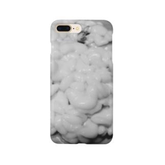 調理前の白子 Smartphone cases