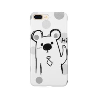 シロクマ Hi. Smartphone cases