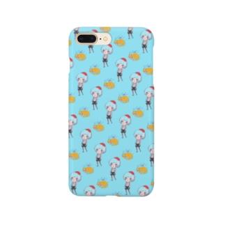 サロペットぼうやと黄色いゾウさん Smartphone cases