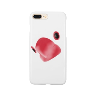 クローズアップ文鳥 Smartphone cases
