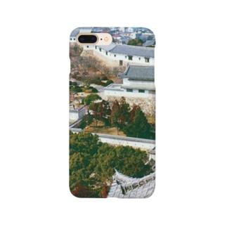 日本の城:姫路城 Japanese castle: Himeji Castle Smartphone cases