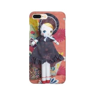 文化人形 氷月 Smartphone cases