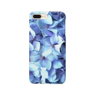 青あじさい Smartphone cases
