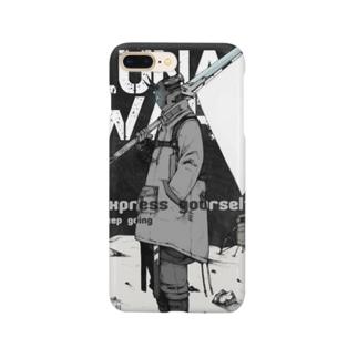 メガ進化旗手 Smartphone cases